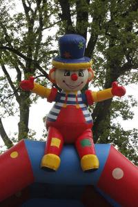 Clown op de helling